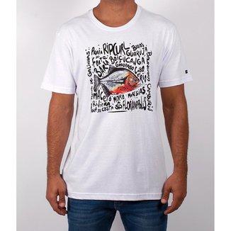 Camiseta Juvenil Rip Curl Animals Masculina