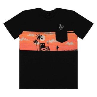 Camiseta Juvenil Rovitex Estampada Masculina