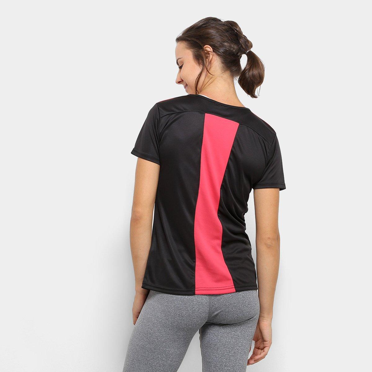Camiseta Kappa Fluid Feminino  Camiseta Kappa Fluid Feminino ... 4c447dfeca637