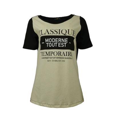 Camiseta Knt    Classique-Feminino