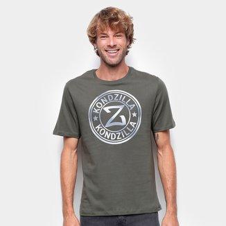 Camiseta Kondzilla Básica Logo Masculina