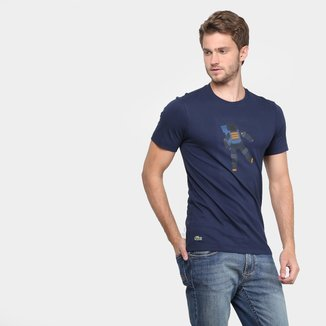 Camiseta Lacoste Astronauta Masculina