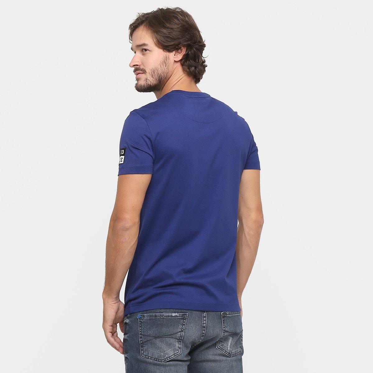 849829a55f76d Camiseta Lacoste Estampa  Camiseta Lacoste Estampa ...