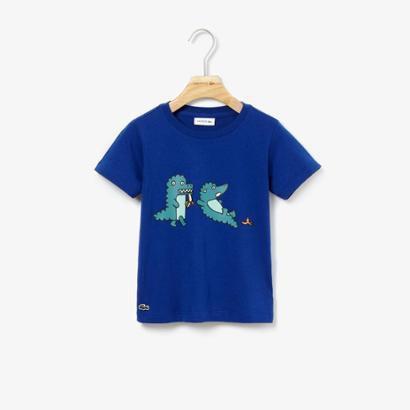 Camiseta Lacoste Infantil Masculino