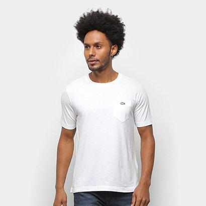 Camiseta Lacoste Live Pocket Masculina