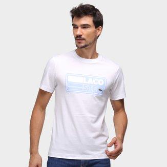 Camiseta Lacoste Logo Masculina