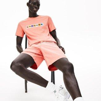 Camiseta Lacoste Regular Fit Masculina
