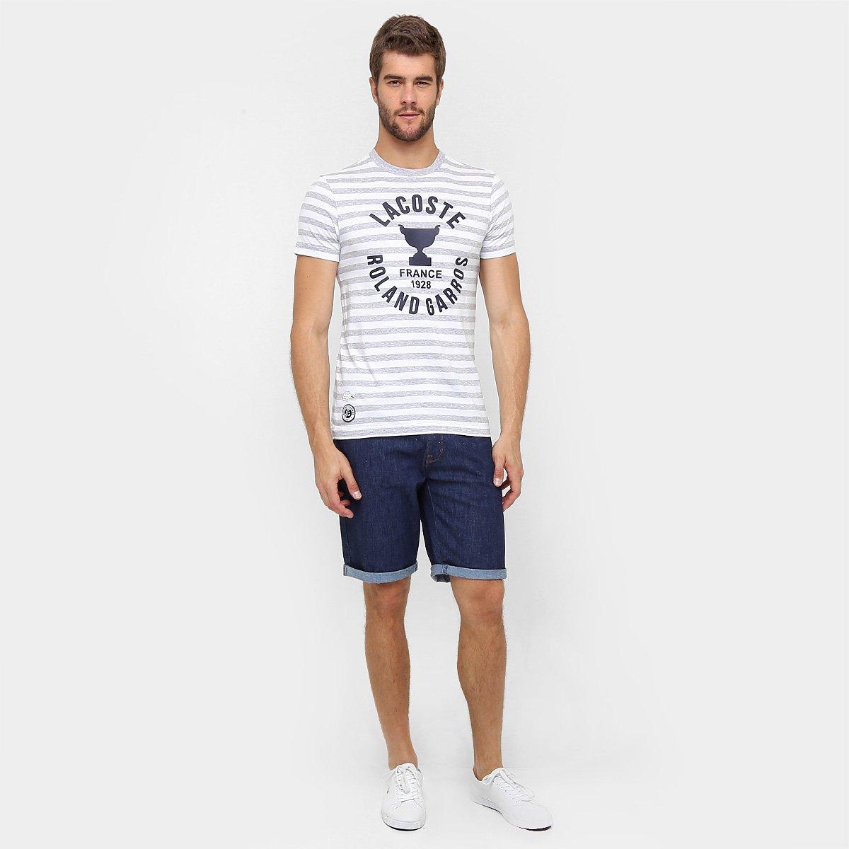fb7b8cffc4220 Camiseta Lacoste TH5761-21 - Compre Agora   Zattini