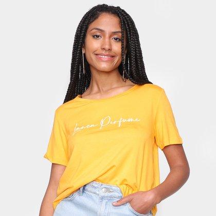 Camiseta Lança Perfume Básica Feminina
