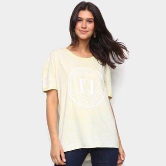Camiseta Lança Perfume Básica Logo Feminina