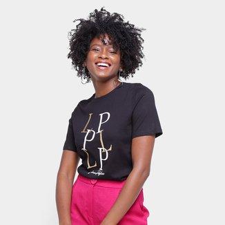 Camiseta Lança Perfume Estampada LP Feminina