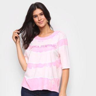 Camiseta Lança Perfume Tie Dye Feminina