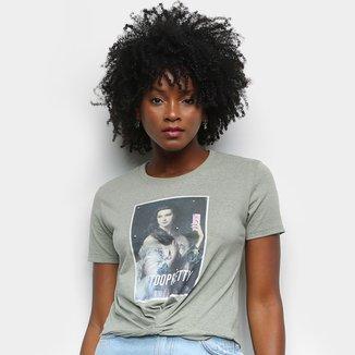 Camiseta Lecimar Estampada Too Pretty Feminina