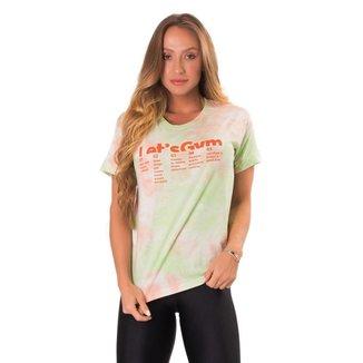 Camiseta Let's Gym Tie Dye Feminina