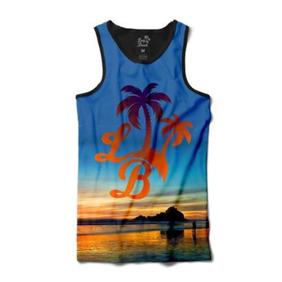 Camiseta Long Beach Regata Praia Logo Sublimada Masculina - Azul - Compre  Agora  0bc062d145a