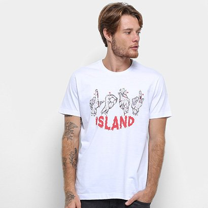 Camiseta Long Island Fingers Masculina