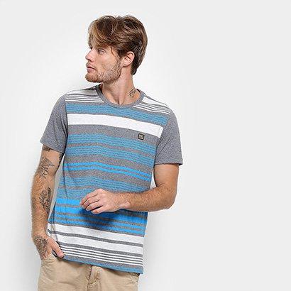 Camiseta Long Island Listras Masculina