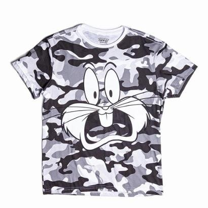 Camiseta Looney Tunes Perna Longa Masculina