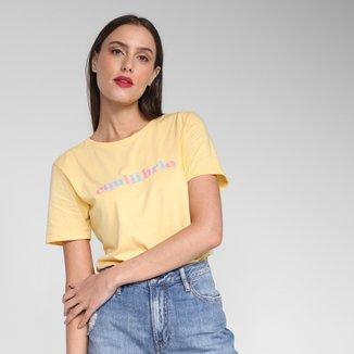 Camiseta Lunender Equilíbrio Feminina