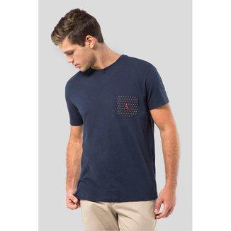 Camiseta Malha Variada Bolso 577 Bordado Reserva Masculina