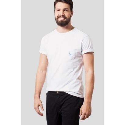 Camiseta Malha Variada Bolso Variado Reserva Masculina - Masculino