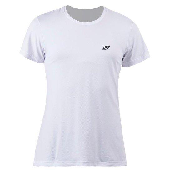 Camiseta Manga Curta Infantil Dry Action 3C Uv - Branco