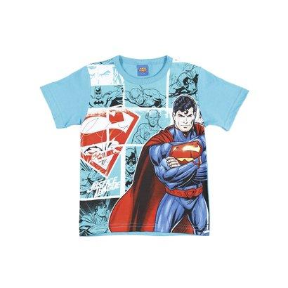 Camiseta Manga Curta Infantil Justice League