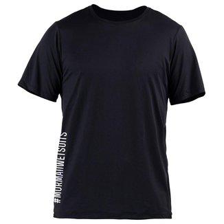 Camiseta manga curta masculino uv - fps 50+ esporte Mormaii