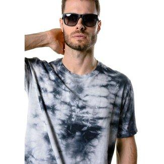 Camiseta Manga Curta Tie Dye Urban Figha Masculina