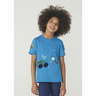 Camiseta Manga Curta Unissex De Algodão Dpa - 5D2PXLNEN8