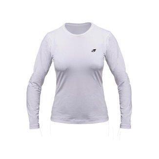 Camiseta manga longa feminino dry action uv - fps 50+ Mormaii