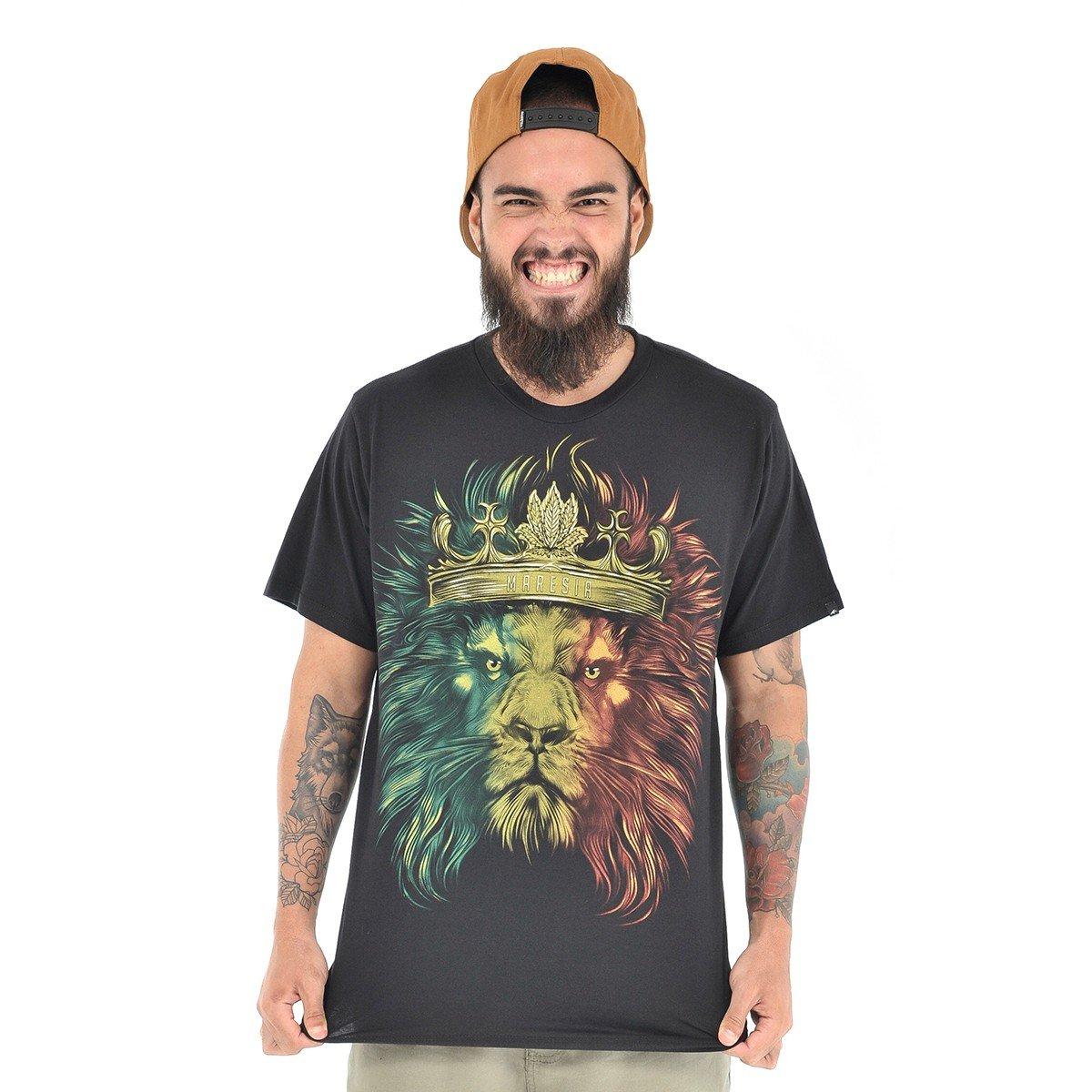 740f63f5d Camiseta Maresia Leão De Judá - Compre Agora
