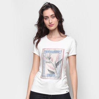 Camiseta Marialicia Básica Feminina