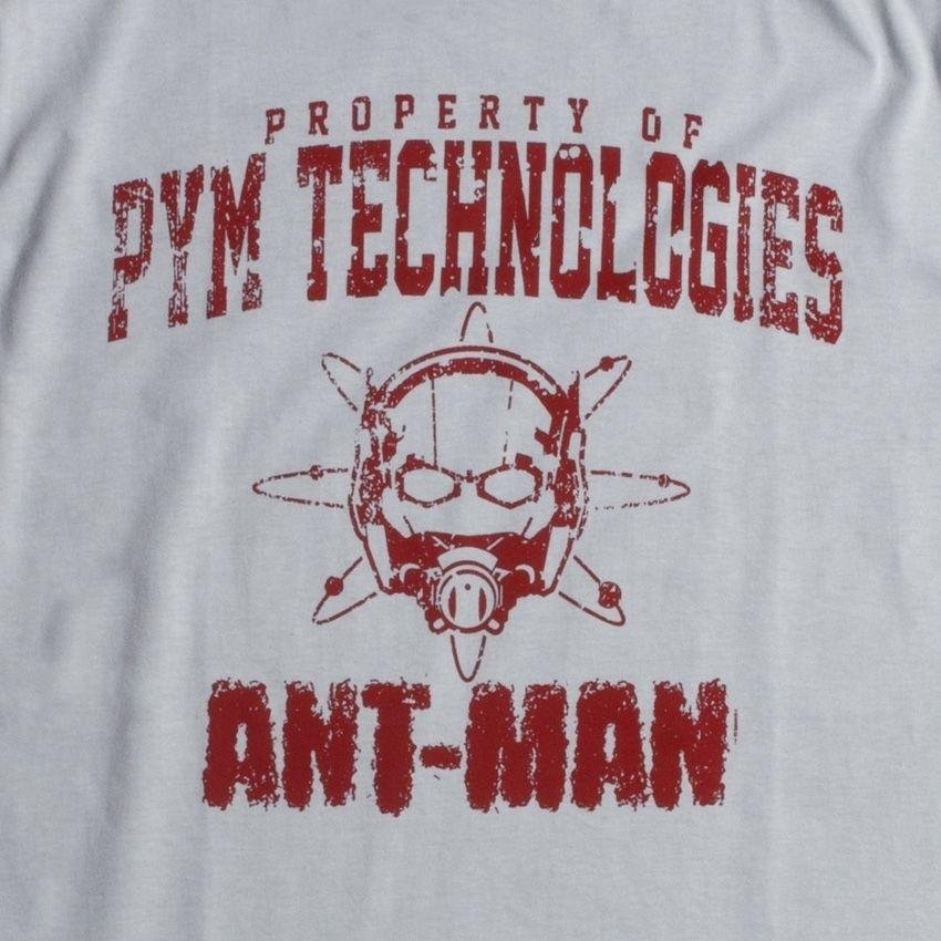 8ae8e6c22a Camiseta Marvel Homem Formiga Tecnologias Pym - Cinza - Compre Agora ...
