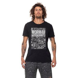 Camiseta mascuina Mormaii motorsports speed head