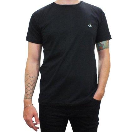Camiseta Masculina Calvin Klein Gola Redonda 100% Algodão