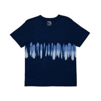 Camiseta Masculina Meia Tie Dye Rovitex Teen Azul 16