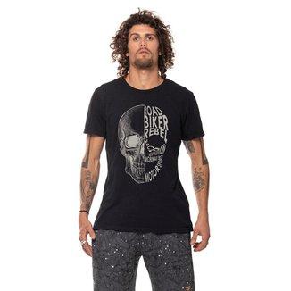 Camiseta masculina Mormaii motorsports skull