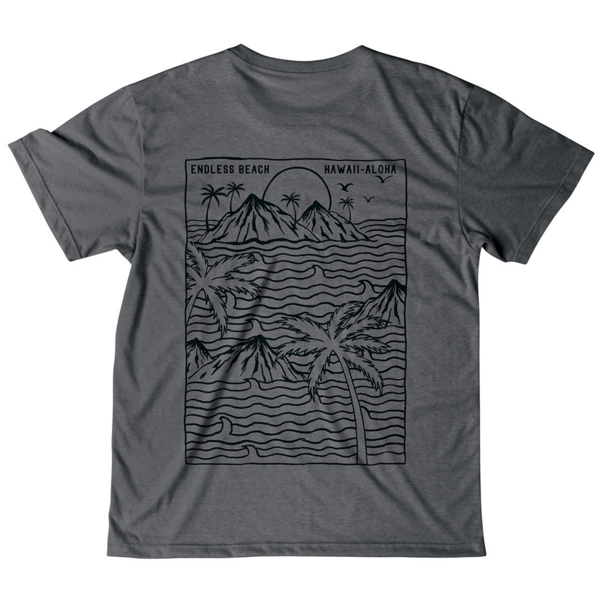 Camiseta Mash Malha Ecológica Masculina - Preto