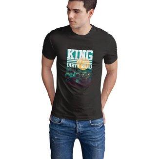 Camiseta Mayon Slim Premium Cor Chumbo King of Dirty