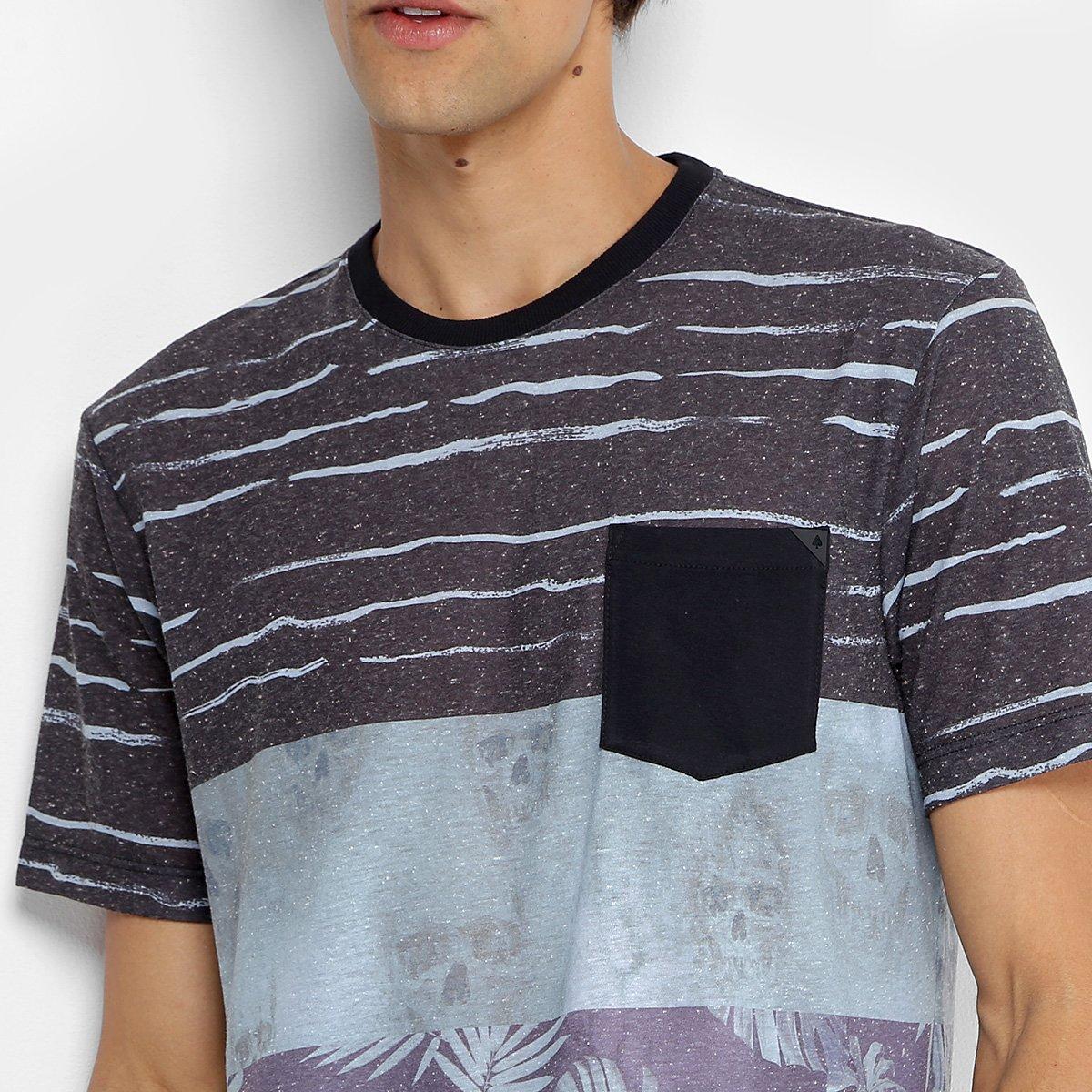 Camiseta MCD Especial Geo Organic Masculina - Verde e Roxo - Compre ... fb53de9257f