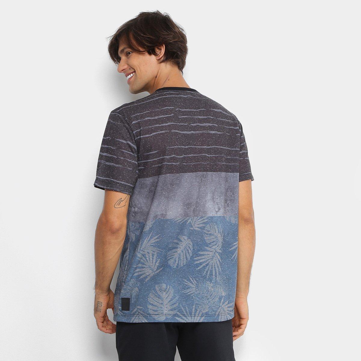 Camiseta MCD Especial Geo Organic Masculina - Azul Petróleo - Compre ... 7f269a6901a