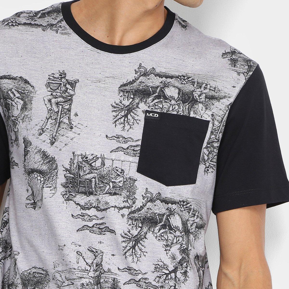 Camiseta MCD Especial Toile Bizarre Masculina - Cinza - Compre Agora ... fbfda50122a