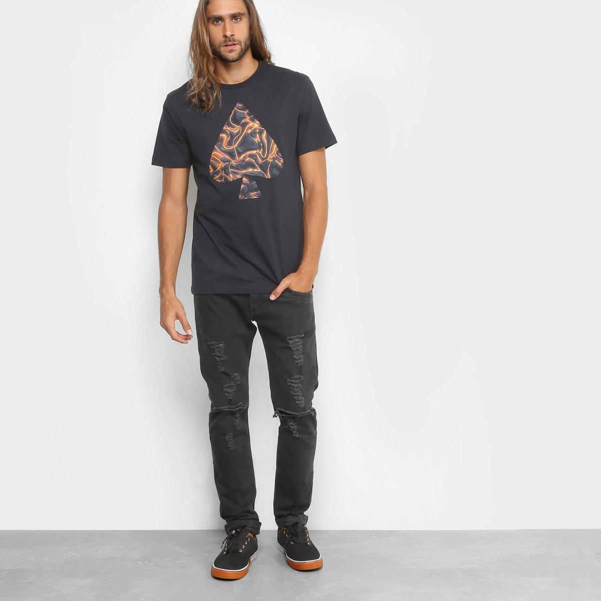 Camiseta MCD Regular Vulcano Masculina - Compre Agora  5402ed62786
