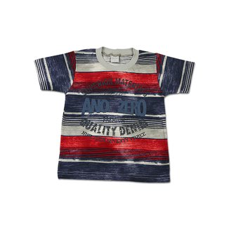 Camiseta Meia Malha Flamê Estampada Superior Mate