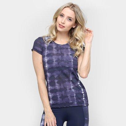 Camiseta Memo Crepe Tie Dye-Feminino