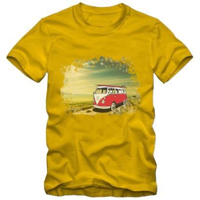 Camiseta Milá Kombi Casual Masculina