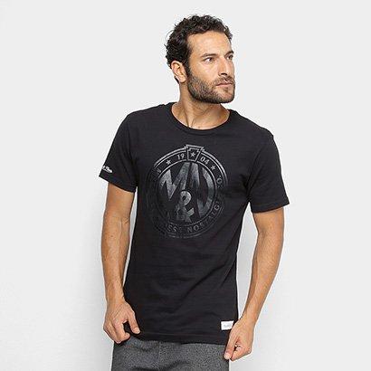 Camiseta Mitchell & Ness Monogram Foil Masculina