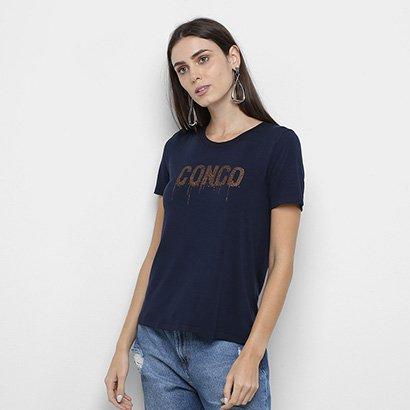 Camiseta Mob Congo Glitter Feminina