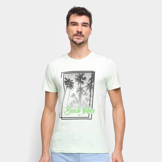 Camiseta Mormaii Beach Vibes Masculina - Verde claro